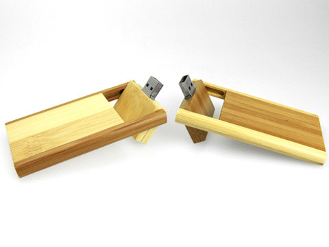 Holz USB Stick mit Logo als Give Away