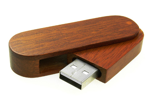 Leaders 16GB Rotation Solidem Holz High – Speed USB 2.0 ...